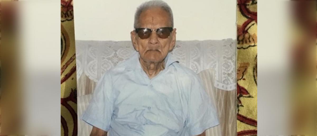 Telangana Ram Reddy 100, alive and kicking