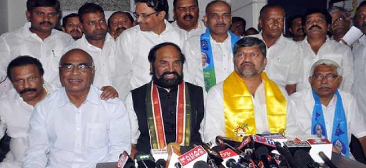 Congress leaves 24 Telangana seats for TDP, allies