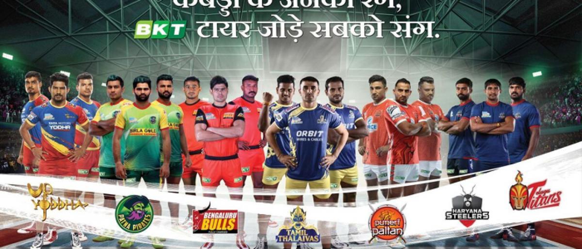 BKT becomes official tyre partner for Telugu Titans