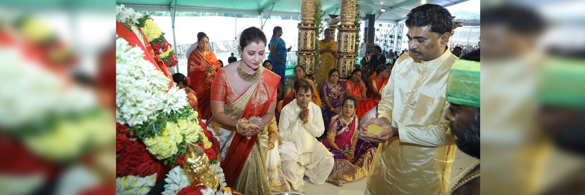 Celestial marriage of Venkateswara Swamy conducted