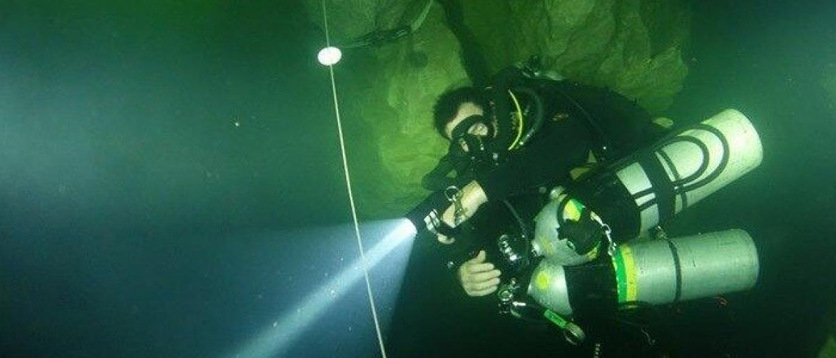 What's it like to go cave diving?