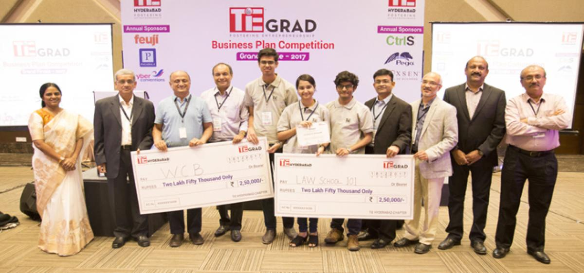 Two Hyderabad startups win at TiE GRAD