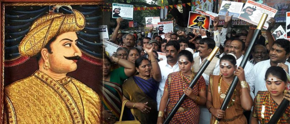 BJP chalking out protests to oppose Tipu Jayanti.