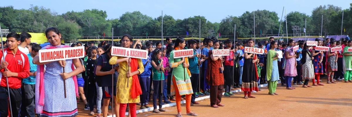 Sports fever grips temple city Tirupati
