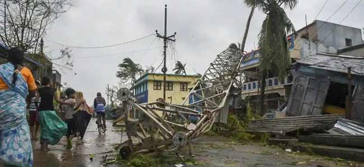 Titli Affect : Power supply disrupted In Srikakulam district
