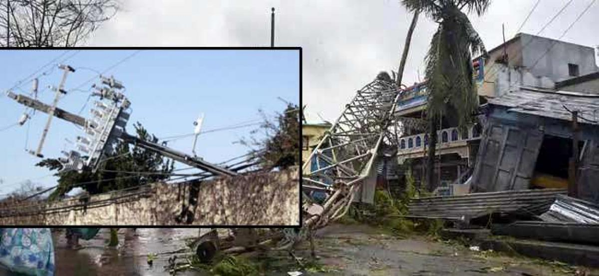 Titli cyclone impact Regarding power supply Official figures varied at field level