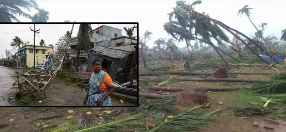 Titli damages entire Srikakulam