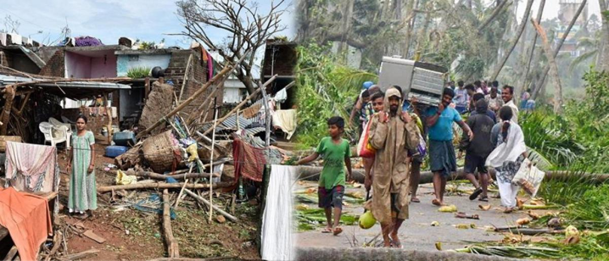 NRIs donate for Titli affected people in AP