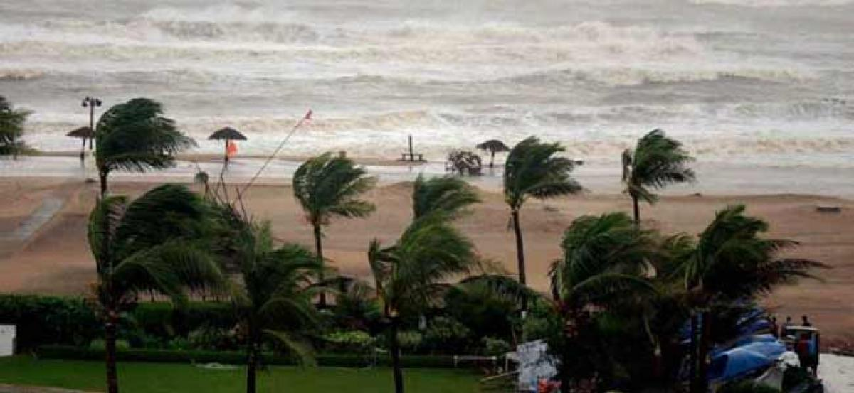 Titly Hits Coastal Andhra, Heavy Rains In Next 48 Hours