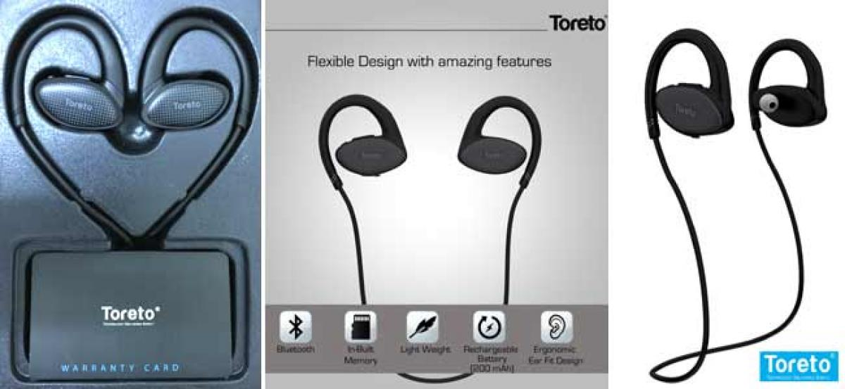 """Toreto Launches """"Whizz"""" - Waterproof Headsets with in-built Memory"""