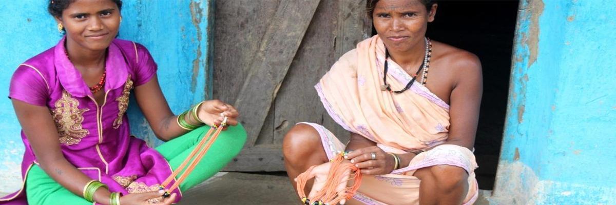 How jewellery-making skill is empowering Kanha tribal women