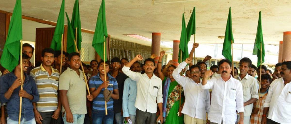 2BHK demanded for Adivasis
