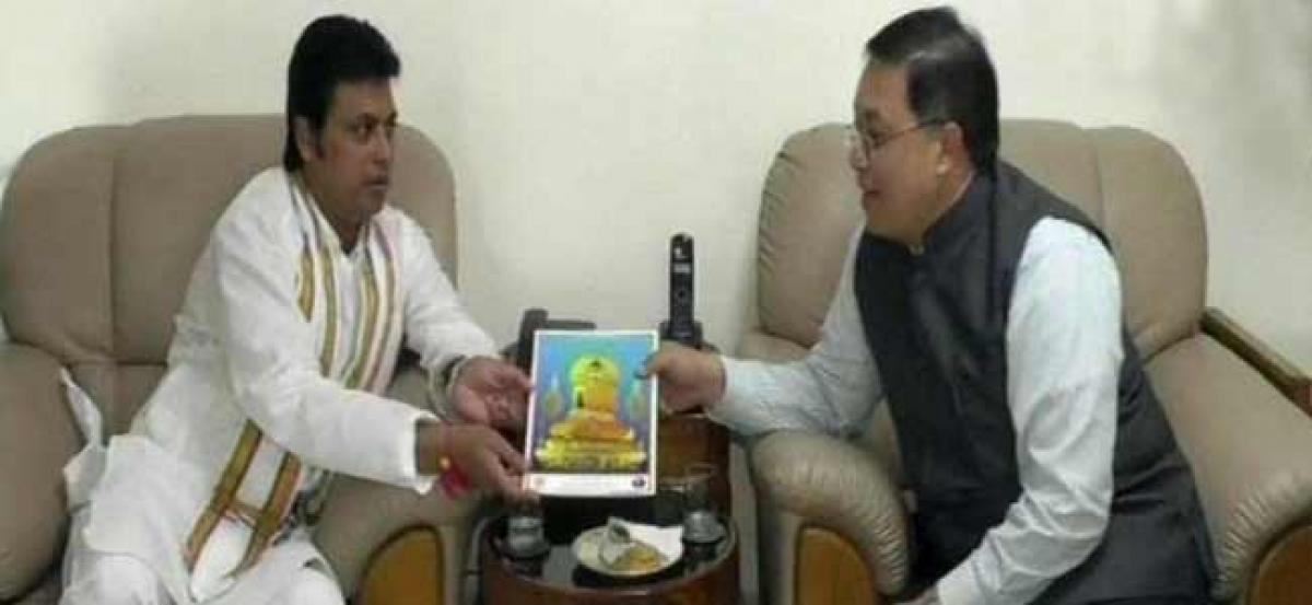 Thailand envoy meets Tripura CM, discusses trade, tourism