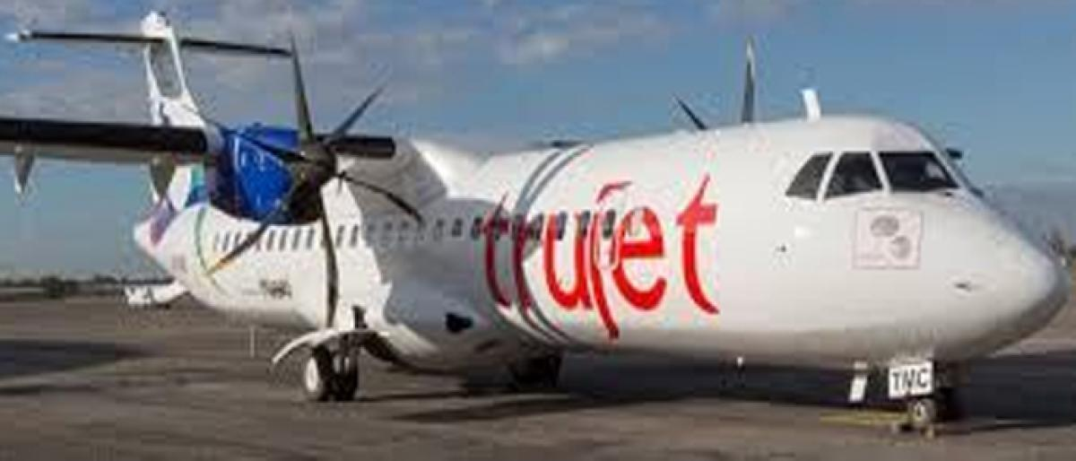 TruJet in talks with Jet to take planes on lease