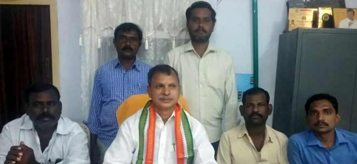 BJP, TDP, YSR congress parties have no clarity on steel plant- PCC vice president