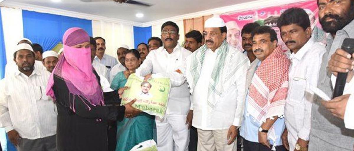 KCR Govt committed to welfare of Minorities: Tummala Nageswara Rao