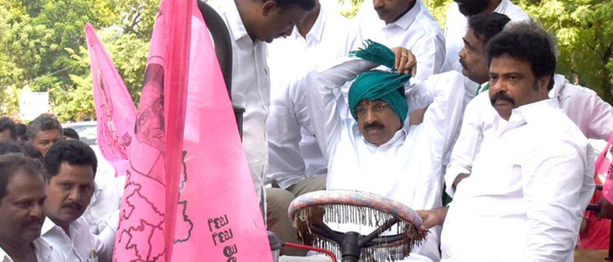Minister Tummala Nageswara Rao exhorts farmers to take advantage of welfare schemes