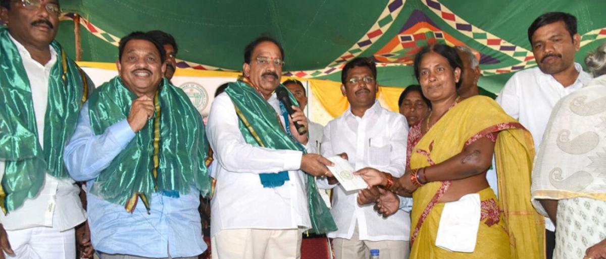 Rythu Bandhu scheme will check moneylender