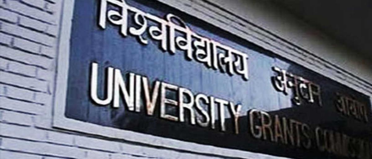 Telangana varsities feel UGC heat