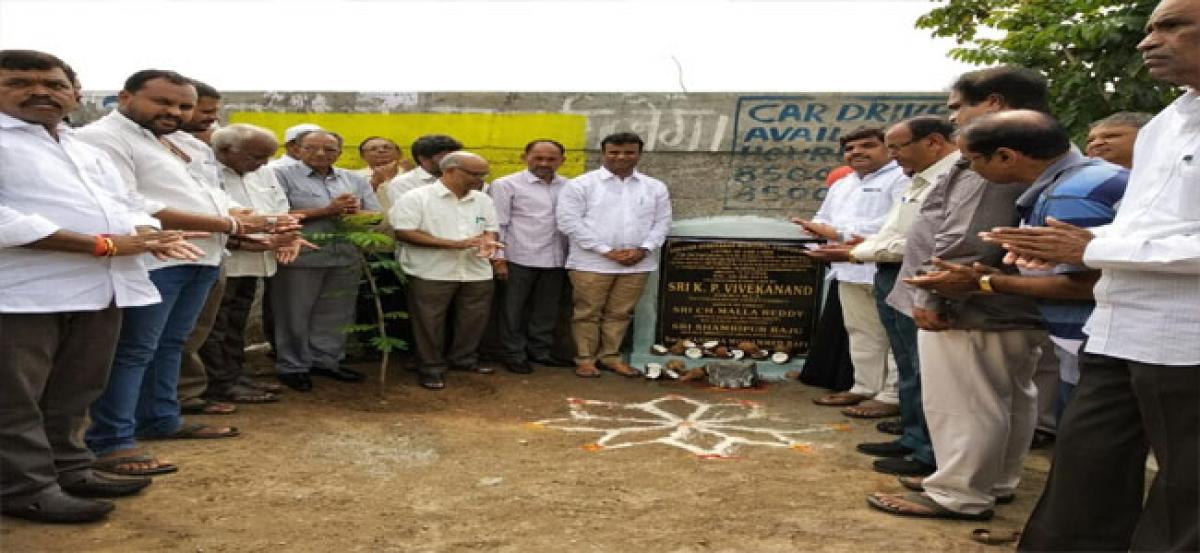Vivekanand launches UGD works