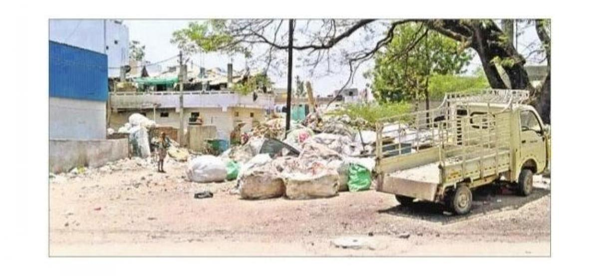 Unauthorised scrap business in midst of residential areas affecting people's health