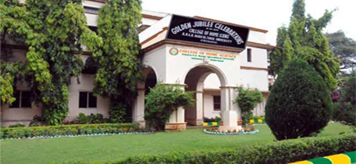 Jayashankar Agriculture Universtiy to hold counselling for various courses