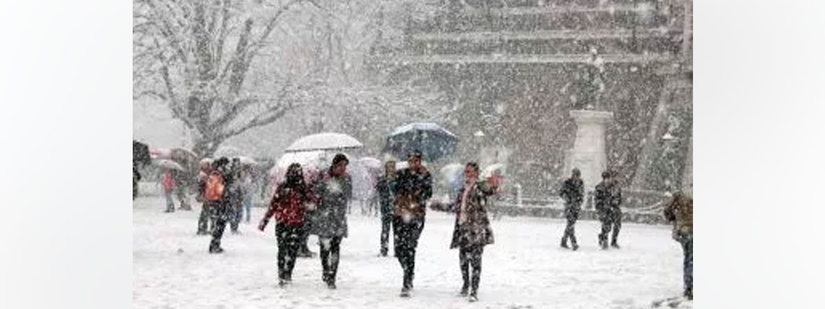 Icicles surface in Shimla as mercury dips sharply