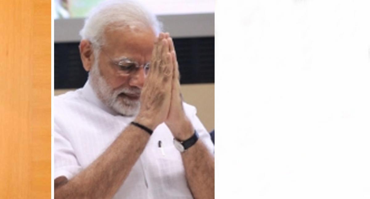 Kovind, Naidu, Modi pay tributes to Shastri on his birth anniversary