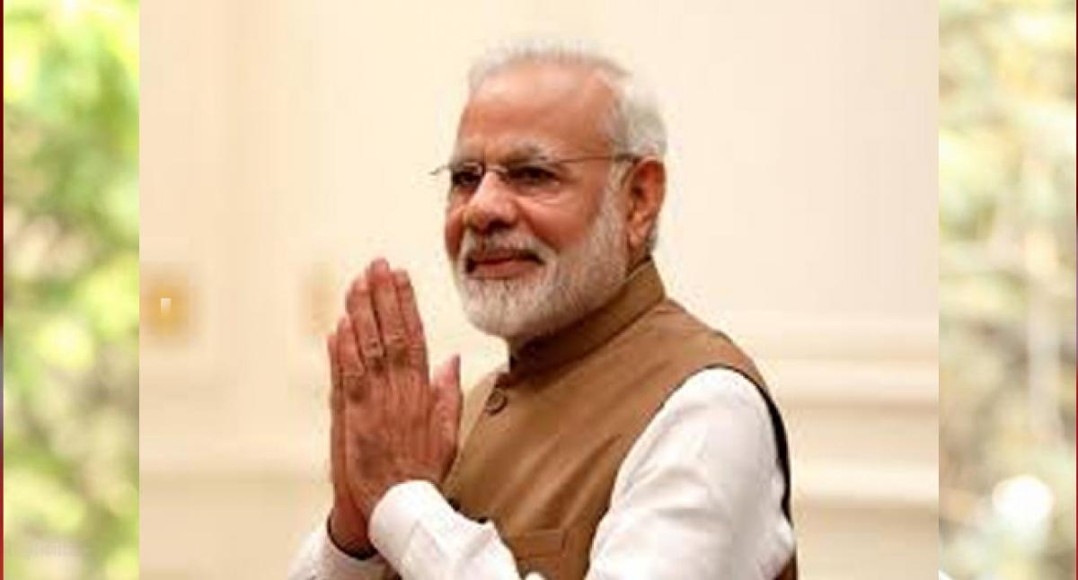 UN honours Modi with Champion of the Earth Award.