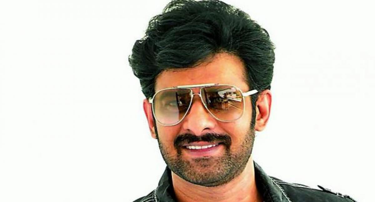 Prabhas Look From His Next Leaked