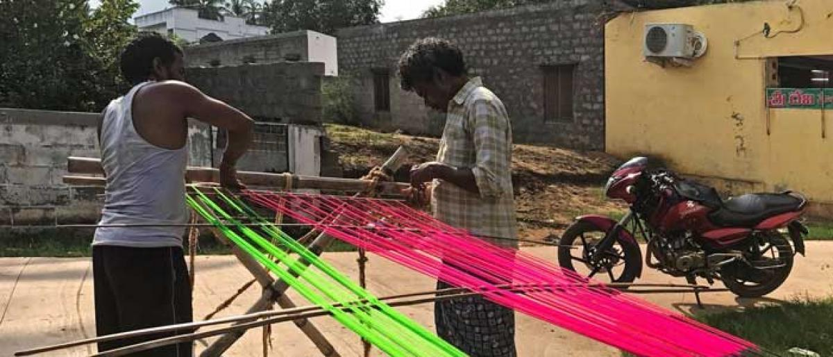 Counting threads in Uppada