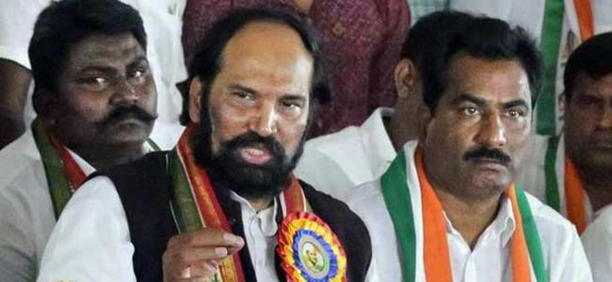 KCR not serious over BC quota in Panchayat Raj polls: Uttam