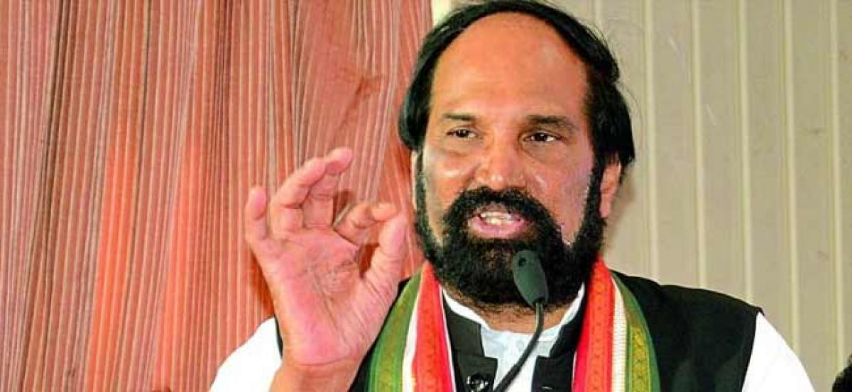 Beat TRS in next polls to save democracy in TS: Uttam