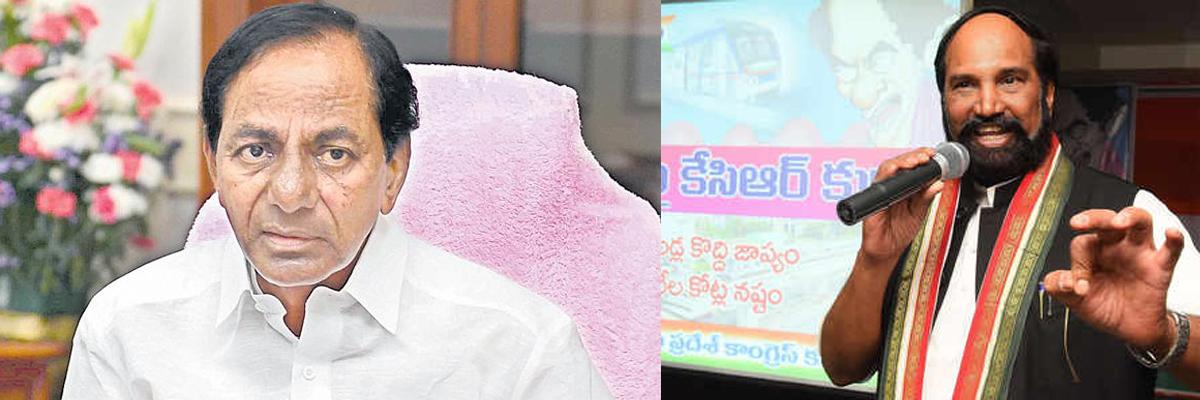 Campaigning turns caustic... Uttam fires fusillade of charges against KCR