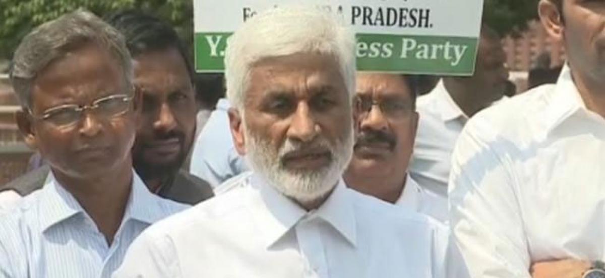 Chandrababu took donations from Vijay Mallya: Vijay Sai Reddy