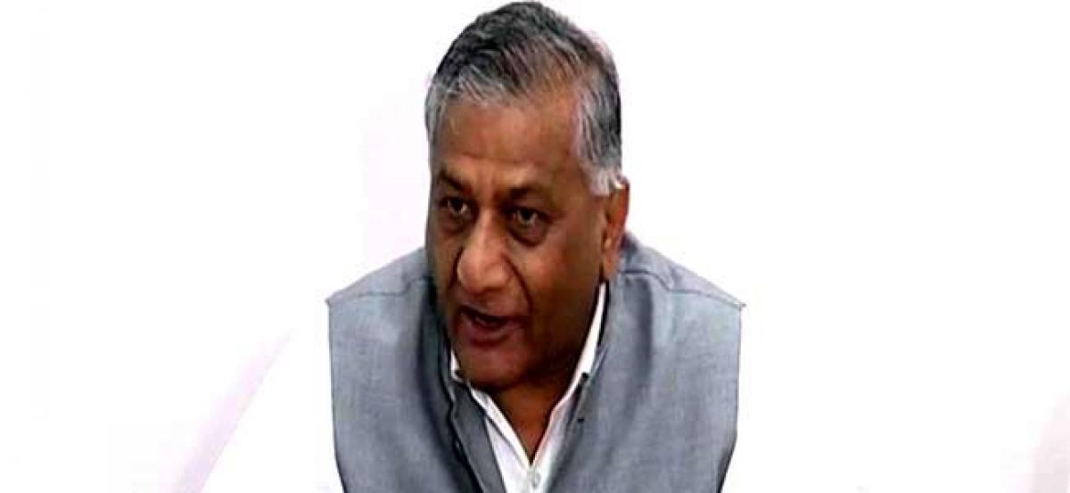 No decision on opening Kartarpur corridor: VK Singh