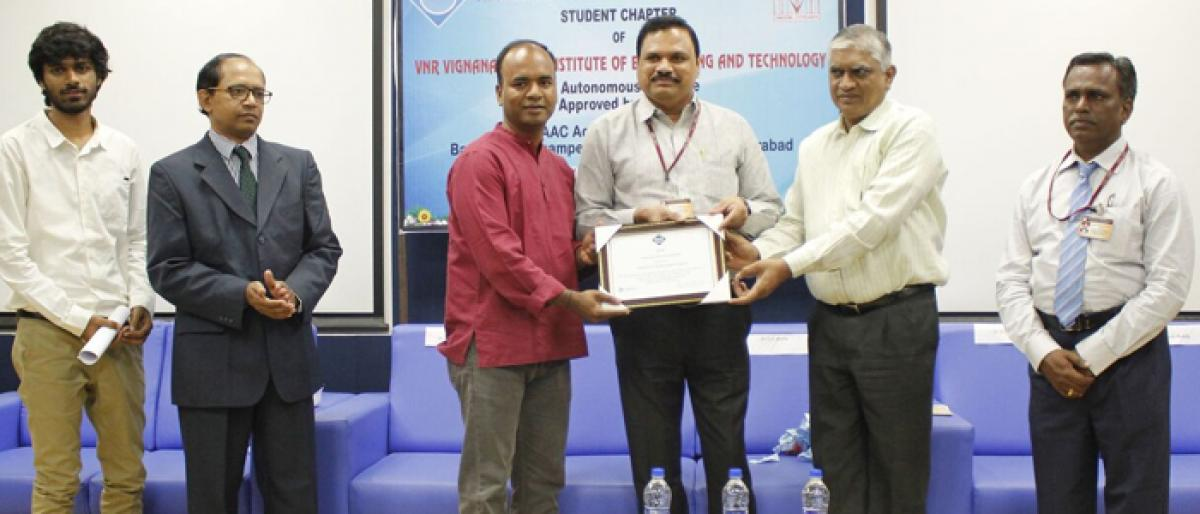 ACM student chapter inaugurated at VNRVJIET