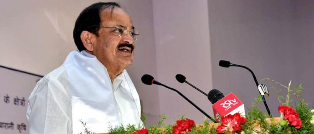 VP  M Venkaiah Naidu bats for strategy to make agriculture viable