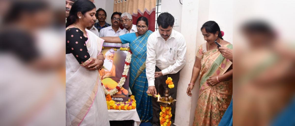 Maharshi Valmiki Jayanti celebrated