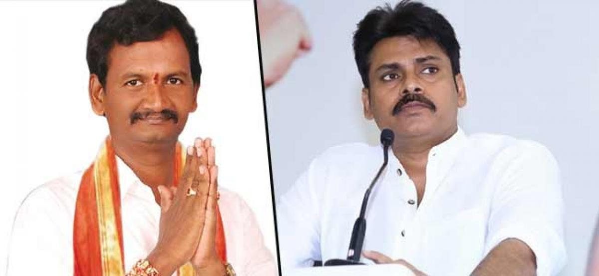 Vangaveti Srinivas Prasad To Join Jana Sena!