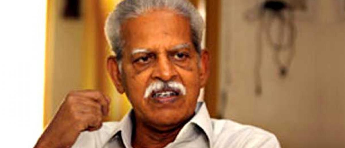 Democratic rights bulldozed: Varavara Rao