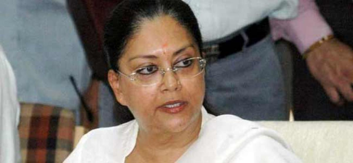 Cong fielded Manvendra against me as it couldnt find any other candidate: Raje