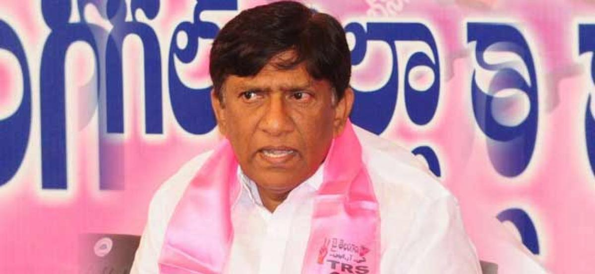 TRS does not own T News or Namasthe Telangana - TRS MP
