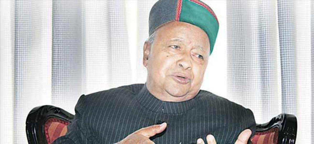 Ex-Himachal CM Virbhadra hospitalised