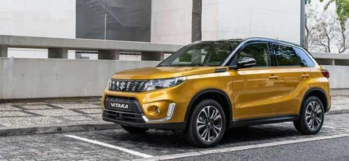 2019 Suzuki Vitara Facelift Revealed