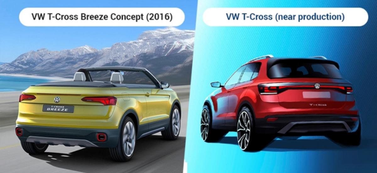 India-Bound Volkswagen T-Cross: Official Sketch Revealed