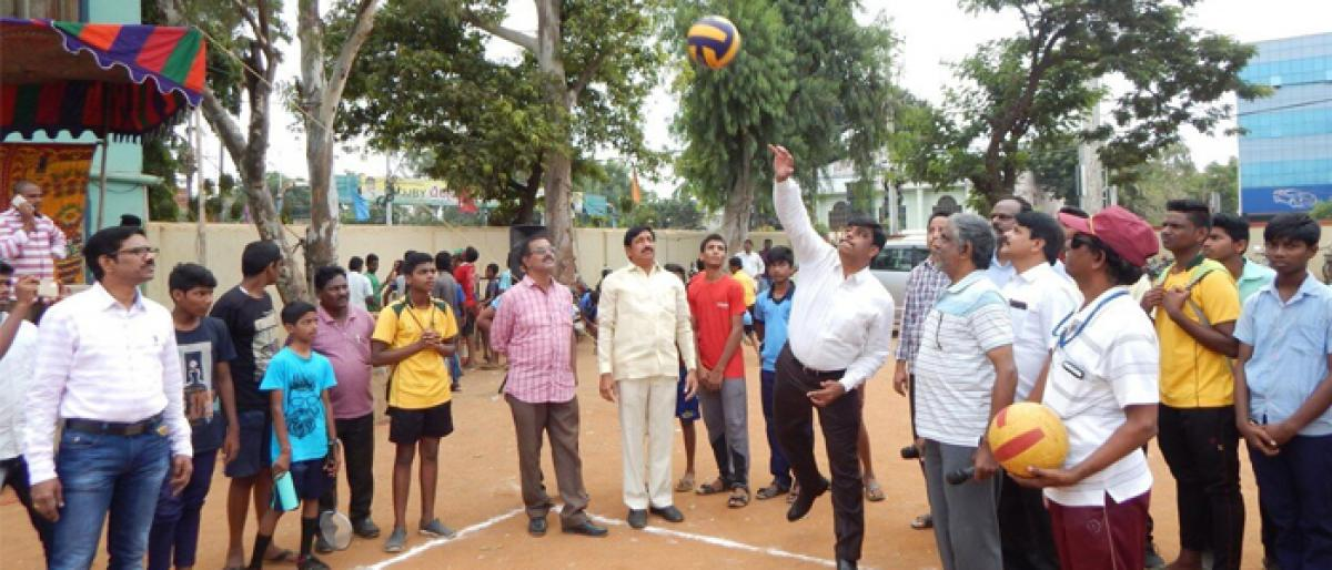 Sports for VMC school students begins