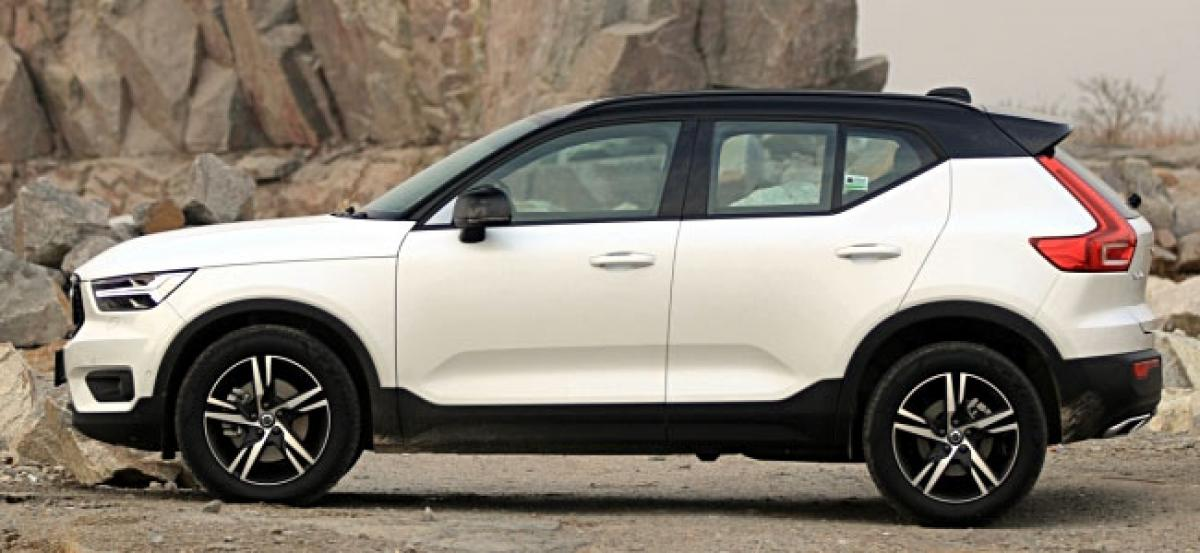 Volvo XC40 Brochure With Momentum & Inscription Variants Surfaces Online