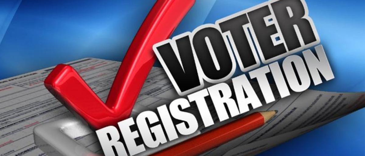 Online voter enrollment high compared to offline