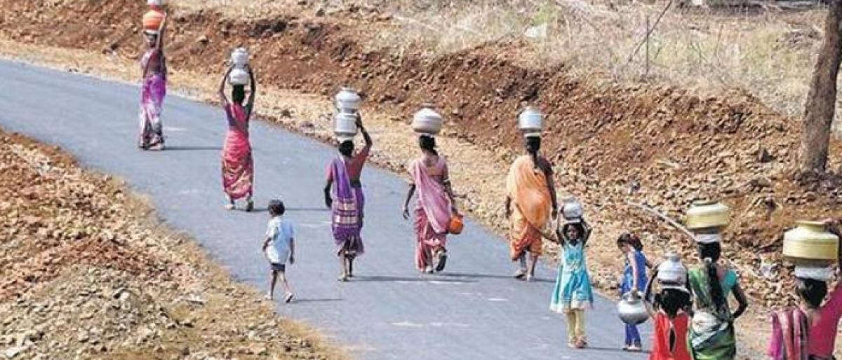 Water crisis stares at Telangana, AP